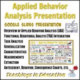 Applied Behavior Analysis (ABA) Presentation