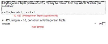 HS [Remedial] Applied Math I UNIT 7: Pythagorus+ (4 worksheets;7 quizzes)
