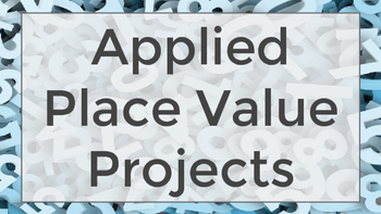 Applied Place Value Activities