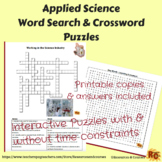 Applied Science Key Terms Word Search & Crossword for Unit