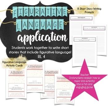 Apply Figurative Language with Creative Writing