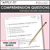 """Benchmark Advance """"Apply It!"""" Questions - Grade 3 Exit Tic"""