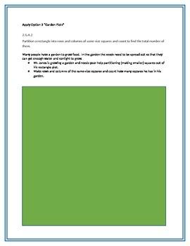 Apply Options for math standard 2.G.A.2
