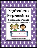 Generate Equivalent Expressions using Math Properties - CCSS 6.EE.A.3 & 6.EE.A.4