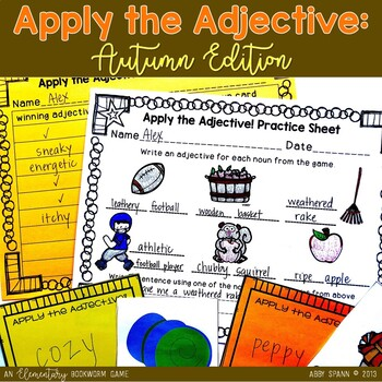 Apply the Adjective! {Fall Edition}