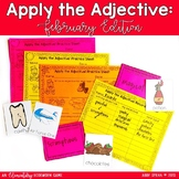 February Game for Adjectives and Descriptive Writing
