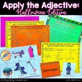 Apply the Adjective! {Halloween Edition}
