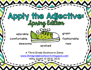 Apply the Adjective! {Spring Edition}