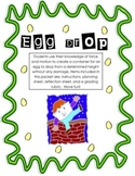 Applying Force and Motion Egg Drop Assignment {Inquiry}