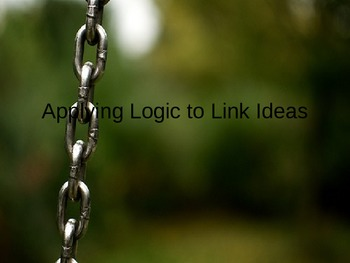 Applying Logic to Link Ideas