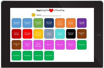 Applying Love of Reading Challenge and Project Menu