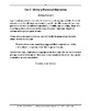 Applying Narrative Writing Skills, Grade 4 (Common Core Wo