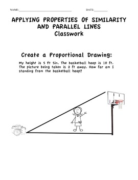 Applying Parallel Lines and Proportions