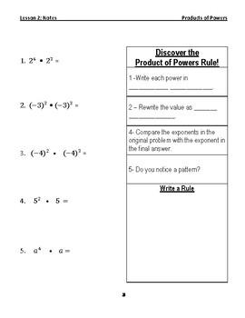 Applying Properties of Exponents