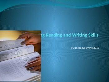 Applying Reading and Writing Skills to Science