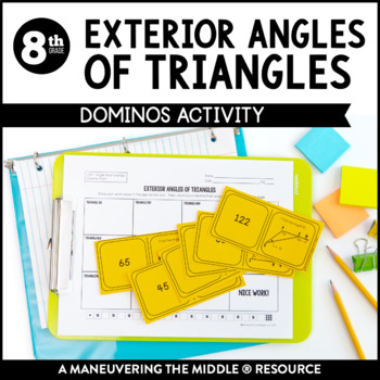 angles of triangles review activity answer key