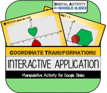 Applying Transformations on the Coordinate Plane for Google Slides