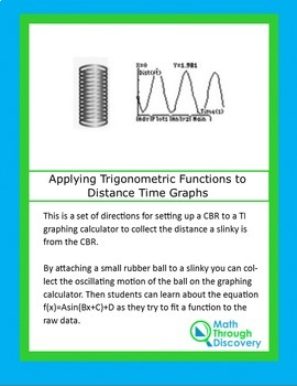 Applying Trigonometric Functions to Distance Time Graphs