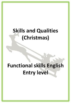 Applying for a job - Christmas theme