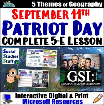 Applying the 5 Themes of Geography to the events of September 11th ( 9/11/01 )