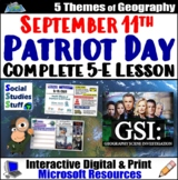 9/11 Applying the 5 Themes of Geography Walk-Around Activity - September 11