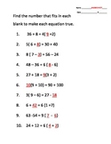 Applying the Distributive Property (by finding common factors & multiples)
