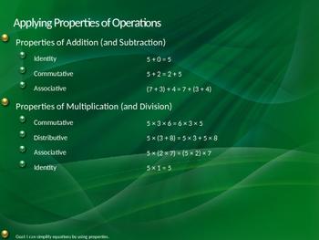 Applying the Distributive Property