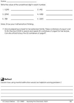 Applying the Standards Math Grade 5 SALE 20% OFF 104851