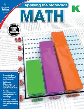 Applying the Standards Math Grade K SALE 20% OFF 104845
