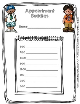Appointment Buddies ~ Differentiating Instruction Made Simple
