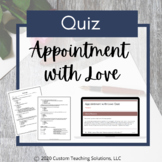 Appointment With Love Assessment
