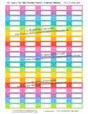 Appointment, clock, reminder planner stickers