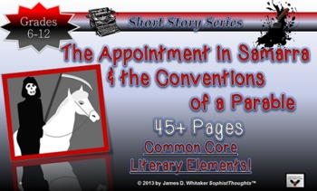 Appointment in Samarra Parable Study Universal Theme Common Core