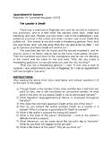 Appointment in Samarra Worksheet
