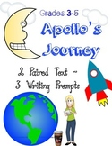 Apollo's Journey~Paired Text~Writing Prompts~Learning Goals~No Prep!
