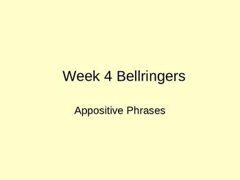Appositive Phrases Brush Strokes