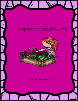 Appositive Scoot Game