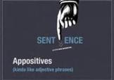 Appositive Sentence Builder Organizer