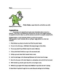 Appositives - Comma Rule Worksheet