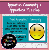 Appositives Community & Appositives Puzzles