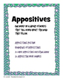 Appositives: Game and Bookmarks