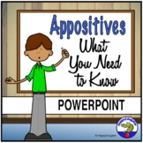 Appositives PowerPoint with Appositive Phrases