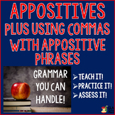 Appositives and Commas With Appositive Phrases ~ Teach It! Practice It! Quiz It!