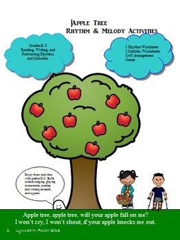 Appple Tree Rhythm & Melody Activities