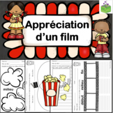 Appréciation d'un film- fiches d'activités pour accompagner n'importe quel film