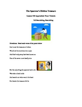 Appreciate Your Talents Lesson 9.2