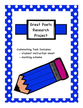 Appreciating Great Poets - Research Project Culminating Ta