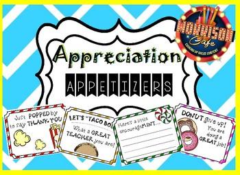 Appreciation Appetizers!