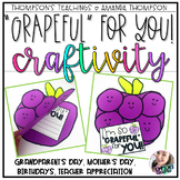 Thank You Card- Grandparent's Day, Mother's Day, Teachers, Student Teacher