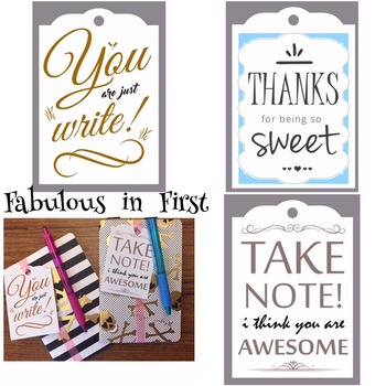 Appreciation Gift Tags
